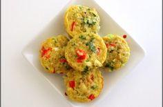 Quinoa, Egg & Veggie Breakfast Bites breakfast bite