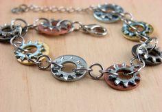 Recycled Hardware Bracelet