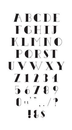 """Benthem Free Typeface"" by Keith Hayden"
