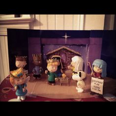 Charlie Brown Nativity