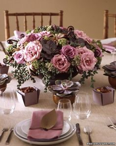 """See the """"Rose Centerpiece"""" in our  gallery"""