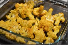 Roasted Turmeric Cauliflower http://ancestralchef.com/roasted-turmeric-cauliflower/ #paleo #primal #recipe #recipes #paleoliving #healthy #food #health #nutrition #diet #glutenfree #gf #roasted #turmeric #cauliflower #sidedish
