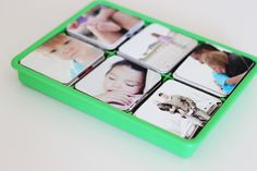 DIY Family Memory Game...keep for yourself or a great family gift idea!