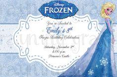 Disney Frozen Princess Elsa Birthday Party by RayningGrace on Etsy
