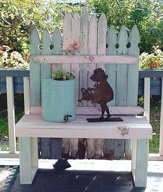 Pallet Furniture Projects | TOPICS Creative Pallet Decor Ideas DIY Pallet Garden Pallet Furniture ...