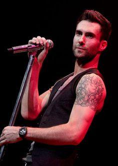 Adam Levine  Delicious !!!!