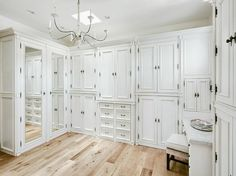 French white closet