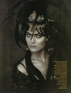 Shalom Harlow (Photography by Paolo Roversi)   1996