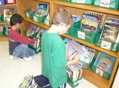 """I need to remember this for next year.  """"students are not allowed to """"shop"""" for books during independent reading time. Ideas from Beth Newingham..."""