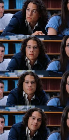 Heath Ledger via 10 Things I Hate About You