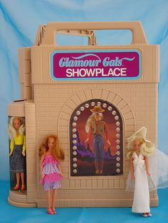 Oh MAN, Glamour Gals! I even had the giant cruise ship.