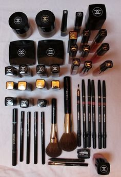 #chanel #makeup #brushes