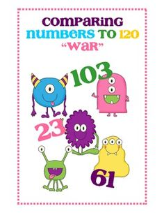 Comparing Numbers to 120