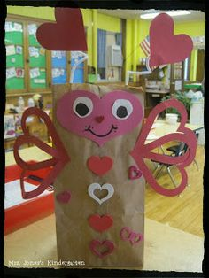 Cute valentine bug bags!