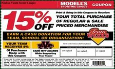 Modells Sporting Goods Printable Coupon – Aug. and September 2013 #modells #coupons