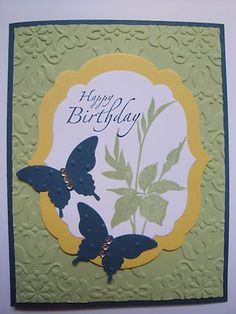 Birthday Butterflies Card Kit (6 cards), Stampin Up