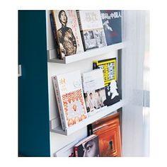"""RIBBA Picture ledge - 21 ¾ """" - IKEA $10."""