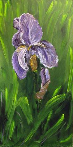 """Tennessee Purple Iris"