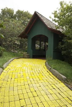Follow the yellow brick road...