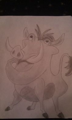 My drawing from The Lion King