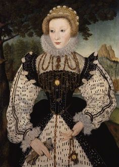 © National Portrait Gallery, London  Unknown woman, formerly known as Mary, Queen of Scots  by Unknown artist oil on panel, transferred to canvas, circa 1570 37 7/8 in. x 27 5/8 in. (962 mm x 702 mm) Purchased, 1860 NPG 96