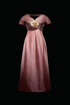 A 1963 Christian Dior London dress worn by Gina Lollobrigida.    Photo By Laziz Hamani/Courtesy Dior