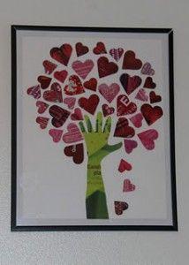 valentine rose tree