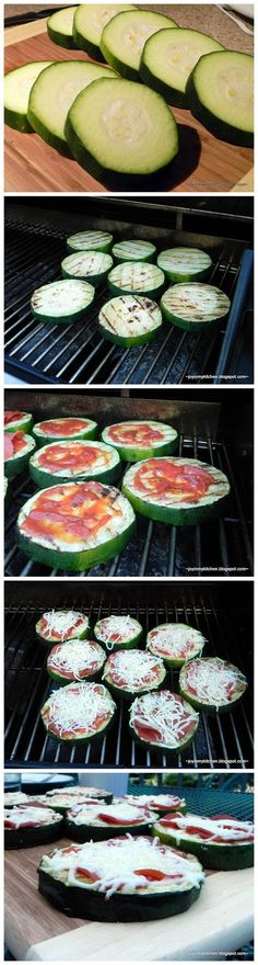 Grilled Zucchini Pizzas zucchini pizza, grilled paleo pizza, latest food