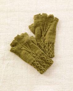 Fingerless Gloves free pattern