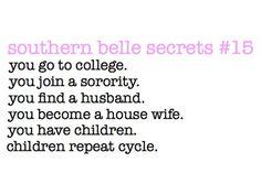 Southern Belle secrets.