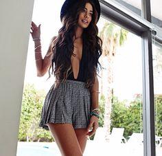 ☼ ☯ ✿✿☯☼ - summer spring warm hot weather festival party outside music coachella fashion style boho hat