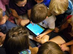 A storytelling app helps students use technology to produce and publish writing, collaborate with others, and hit the College and Career Readiness Anchor Standards for Writing.