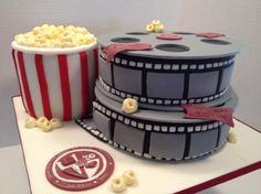 Movie Themed Cake by Carrie's Caked