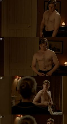 Allen Leech as Branson in Downton Abbey