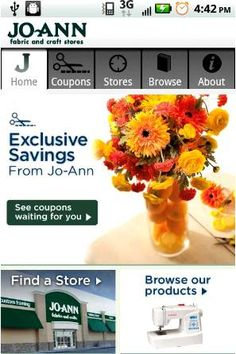 FREE Jo-Ann Android and iPhone App!