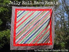 Moda Bake Shop: Jelly Roll Race Remix Quilt