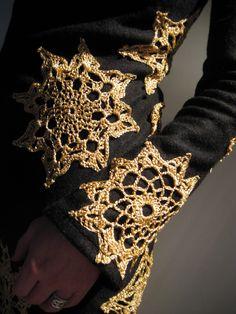 Crochet Doilly Patch Inspiration ❥ 4U // hf