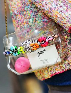 shoulder bags, color, clutches, street styles, stone, crystal, blog, rainbow, clutch bags