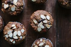 Pear + Cacao Nib Buckwheat Muffins // The Year in Food by continental drift, via Flickr