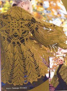Todo para Crear ... : tejido en circulo sacos en crochet - PAP