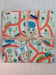 Scenic Route 10 Stacker Layer Cake by by MeadowlarkGlenFabric, $17.00
