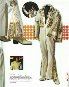 This is the Pharoah jumpsuit & cape from 1973.
