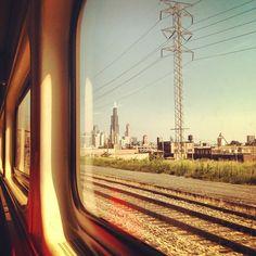 Amtrak's Hiawatha trains travel between Chicago and Milwaukee. Minn.