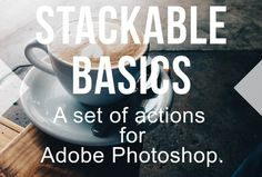 Stackable Set of Photoshop Actions by Actions Schmactions on Creative Market