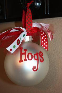 hog ornaments