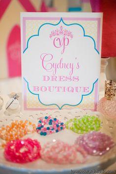 Princess & Knights Birthday Party