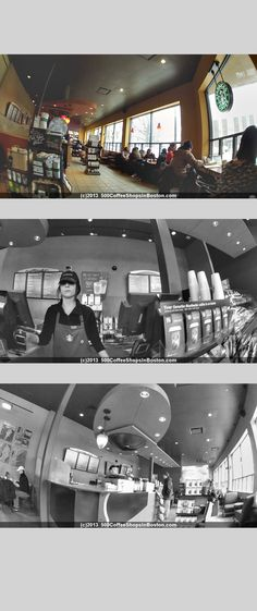 Starbucks at 1810 Centre St in West Roxbury, MA