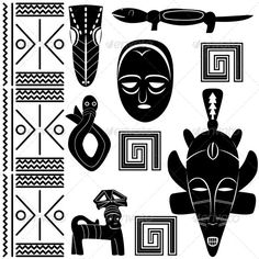african patterns, illustrations, ancient african, african art, african symbol