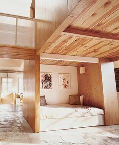 built in bed!