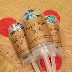 Push-pop #confetti by Thimblepress, now in at Rock Paper Scissors #AnnArbor www.rockpaperscissorsshopcom/about